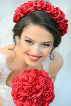 #gelin #gelinlik #gelinbuketi #çiçek #beyaz #düğün #nikah