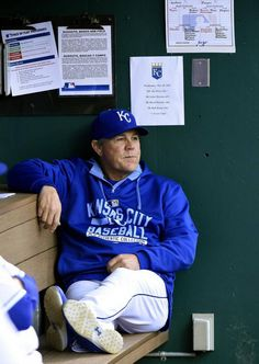 Kansas City Royals manager Ned Yost before Wednesday's baseball game against the Cincinnati Reds on May 20, 2015 at Kauffman Stadium in Kansas City, Mo.