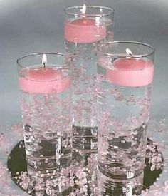 Wedding Centerpieces | Wedding Candle Decorations and Centerpieces by lorrie