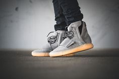 A Closer Look At The adidas Yeezy Boost 750 Grey Gum