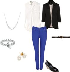 """Work Outfit- Casual Friday"" by meghan-aloisio on Polyvore"