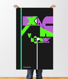 Typographic Posters // & more on Behance