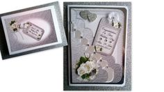 Personalised Boxed Wedding Card £10  - Engagement Anniversary #CRAFTfest