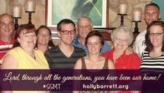 Through all generations {SSMT} | Holly Barrett #SSMT #ReclaimingaRedeemedLife