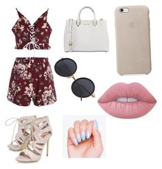 """"""""""" by lix-wxtson on Polyvore featuring Carvela, MICHAEL Michael Kors and Lime Crime"""