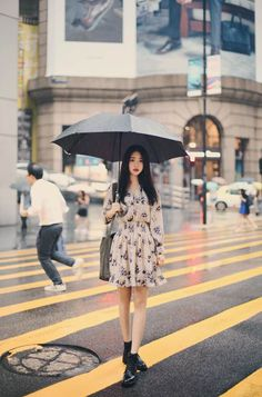 2016 daily feminine& classy look Ulzzang Fashion, Asian Fashion, Girl Fashion, Fashion Outfits, Fashion Design, Korean Dress, Korean Outfits, Vestidos Vintage, Vintage Dresses