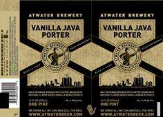 mybeerbuzz.com - Bringing Good Beers & Good People Together...: Atwater - Vanilla Java Porter 16oz Cans