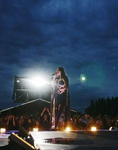 Nightwish at Laulurinne, Joensuu, Finland 6 June 2015