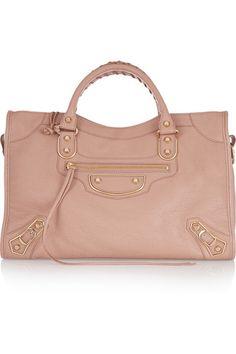 Balenciaga | Holiday Collection City medium textured-leather tote | NET-A-PORTER.COM