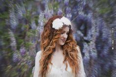 trippy shot of a bride amidst the wisteria su.pr/1bOdaU photos by Blush Photography   CHECK OUT MORE IDEAS AT WEDDINGPINS.NET   #weddings #weddingflowers #weddingbouquets #bouquets