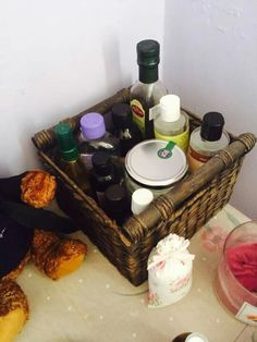 My homemade oils. ♡ #aromatherapy #homemadeoils #essentialoils #seasalt #bathoil #bodyscrub #oilcleansingmethod #skintoner #beauty #health #products #skin #skincare #lipscrub #eyebrowtreatment #oiliveoil #almondoil #castoroil #jojobaoil #baseoil