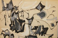 """Anna Walinska. """"Abstractions from the 50s and 60s"""" Solo exhibition at Lawrence Fine Art, August 15- September 2015"""