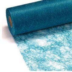 Sizoflor® Originale - 25 m x 30 cm - Chemin de table tissé - mariage - Bleu Turquoise Décoration de table,http://www.amazon.fr/dp/B003OXNMW8/ref=cm_sw_r_pi_dp_7rLBtb1GVV7T7GZ7