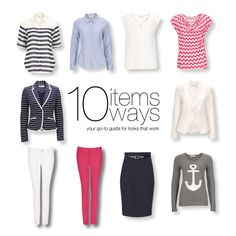 10 Items 10 Ways: Overboard (Spring 2014) - Your ultimate wear-to-work guide this month! All items available in store and at www.rickis.com. Click to view all the looks! #rickis #10items10ways