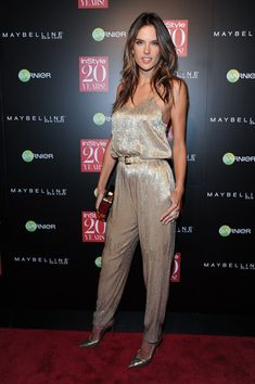 Alessandra Ambrosio Photos: Instyle Hosts 20th Anniversary Party