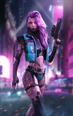 ArtStation - Cyberpunk female killer DaoDao Mao ArtStation - Cyberpunk female k. Cyberpunk 2077, Moda Cyberpunk, Cyberpunk Kunst, Cyberpunk Aesthetic, Cyberpunk Girl, Cyberpunk Fashion, Cyberpunk Tattoo, Cyberpunk Anime, Fighter Girl