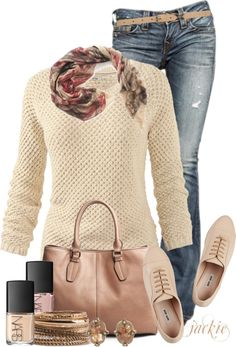 """""""Oxfords and Jeans"""" by jackie22 on Polyvore"""