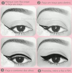 Cat eye. Instructions in Spanish though. I just like the way this one looks.