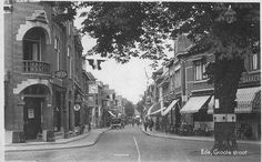 Grotestraat rond 1920 Ede