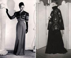 Balenciaga: The Collector    Balenciaga Archive (1947 and 1951 Couture looks)
