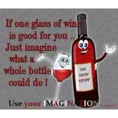 Wine wine and more wine...hahahaha!!
