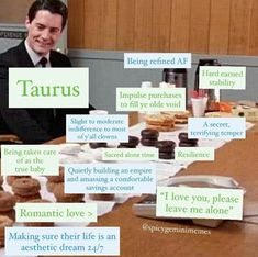 Taurus Memes, Taurus Quotes, Taurus Facts, Zodiac Facts, Astrology Signs, Zodiac Signs, Taurus And Cancer, Taurus Tattoos, Taurus Woman