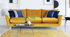Edinburgh Velvet Grand Sofa Grand Designs Velvet | DFS