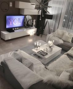 This is a Bedroom Interior Design Ideas. Living Room Decor Cozy, Home Living Room, Apartment Living, Living Room Designs, Bedroom Decor, Beautiful Living Rooms, Beautiful Family, House Design, Interior Design