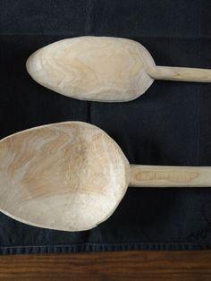big wood spoon