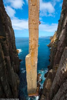 Totem Pole Klettern Cape Hauy - Tasmanien