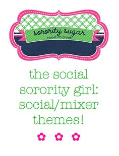 Cute party theme ideas!