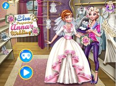 ELSA PREPARING ANNA'S WEDDING   http://playfrozengames.com/frozen-games/elsa-preparing-annas-wedding