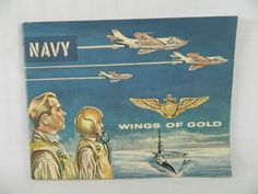 NAVY WINGS OF GOLD - 1959 RECRUITMENT BROCHURE - AVIATION, Military
