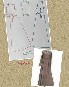 Pola dress/gamis. Silahkan share ke teman2mu  Sumber: opa #idemenjahit #belajarmenjahit #ideuntukjahitanmu #idemenjahit_poladress #idemenjahit_polagamis #idemenjahit_pola #poladress #polagamis #sewingproject #ayomenjahit #ilovesewing #crafting #sewing #patterns #sewingtutorial #diy #doityourself #tailorindonesia