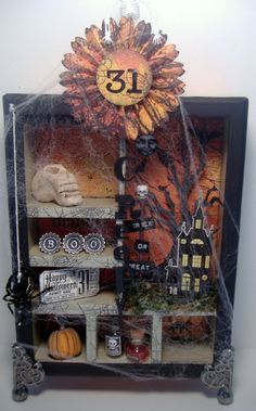 The other side of Deb: Halloween Configuration Box