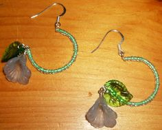Unique beaded hoops by uniqueeuphoria on Etsy, $10.00