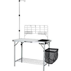 Ozark Trail Portable Camp Kitchen and Sink Table $50