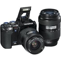 Olympus EVOLT E500 8MP Digital SLR | Click Image For More Information or To Buy It