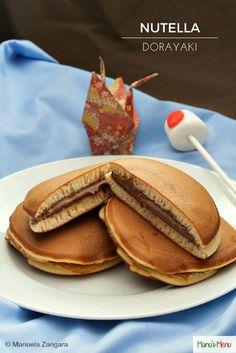Nutella Dorayaki Dorayaki  E  A E   E  Bc E  D Is A Cl Ic Japanese Confection Made Up