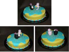 "Gâteau anniversaire ""Barbapapa"""