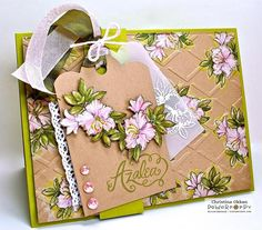 Soft Azaleas F4A215 by ChristineCreations - Cards and Paper Crafts at Splitcoaststampers