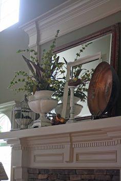 Fireplace Mantel Decorating Ideas!