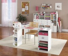 Look at these great pictures of inspirational craft rooms I found atMichaels.com. I have a few of these cubes, but they never quite look like the ones on Micheals website. A girl can dream, right?!?!    Source: All pictures fromMichaels.com