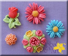 Flowers Mould by Global Sugar Art