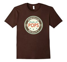 Pops+Grandpa+T-shirt+Vintage+Fathers+Day+grandfather+Tee+-+Male+Small+-+Brown+Homewise+Shopper+http://www.amazon.com/dp/B019E6901K/ref=cm_sw_r_pi_dp_TIWFwb11VMPRS
