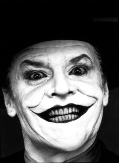 Jack Nicholson the best joker ever!