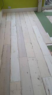 Wiparquet: Vintage Boyalı Laminat parke Tile Floor, Flooring, Tile Flooring, Hardwood Floor, Floor, Paving Stones, Floors