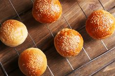 Pretzel Bun Recipe, Bread Recipes, Cooking Recipes, The Kitchen Food Network, Russian Recipes, Breakfast Time, Croissant, Finger Foods, Food Network Recipes