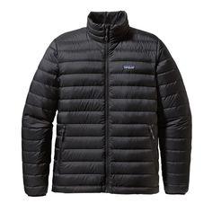 Patagonia Men\'s Down Sweater Jacket - Black BLK