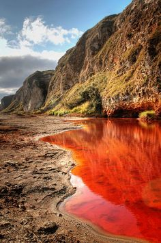 Blood Lake in Texas